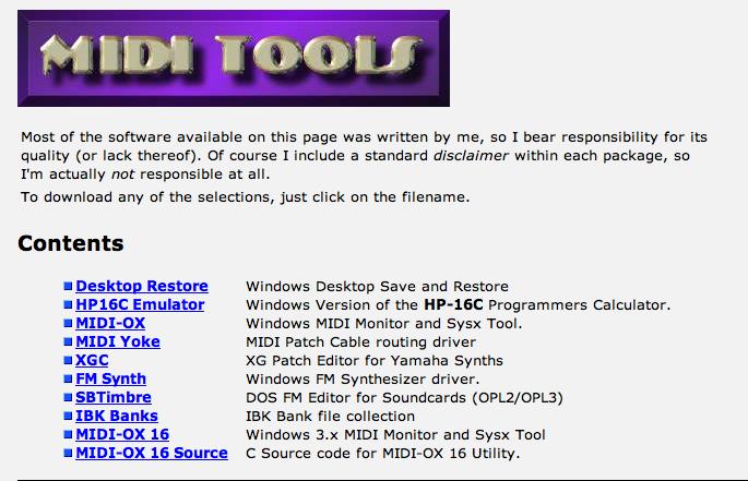 Great MIDI Software For Windows | Binary Heap