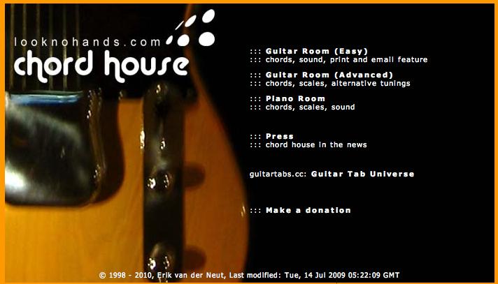 Chord house guitar