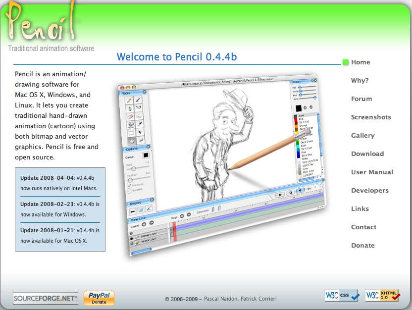 pencil � a traditional 2d animation software binary heap