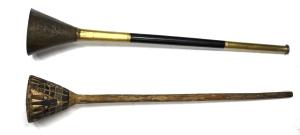 Tut-gilded-bronze-wooden-trumpet